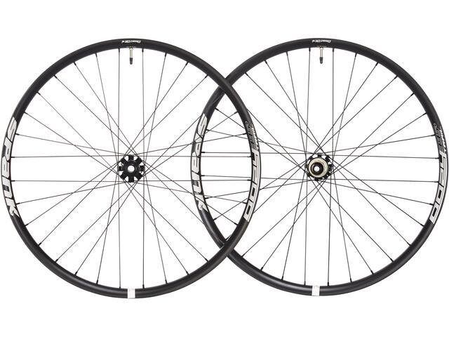 """Spank Oozy Trail395+ Bead-Bite Set 27,5"""" front wheel: 15/100 mm, Rear wheel: 12/142 mm black"""